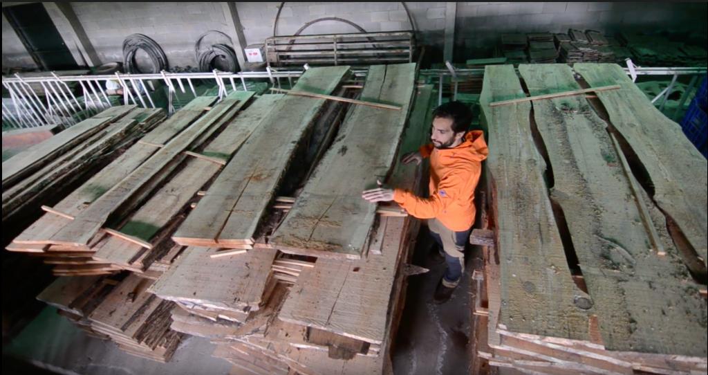 Alfonso entre maderas